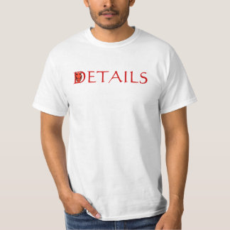 Idiom Devil is in the Details student work T-Shirt