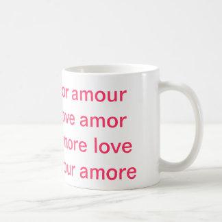 idiomas de taza del amor en