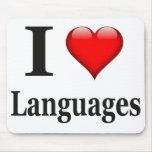 Idiomas del corazón I Alfombrillas De Ratones
