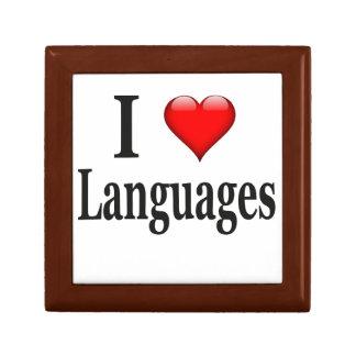 Idiomas del corazón I Cajas De Regalo