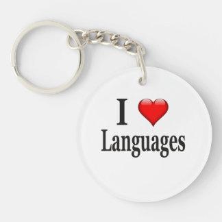 Idiomas del corazón I Llavero