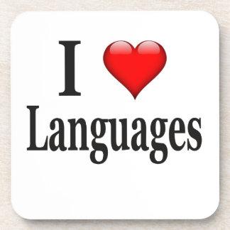 Idiomas del corazón I Posavasos