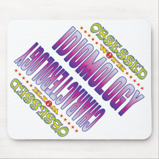 Idiomology 2 obsesionado mouse pads