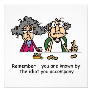 Idiot Company Anuncio