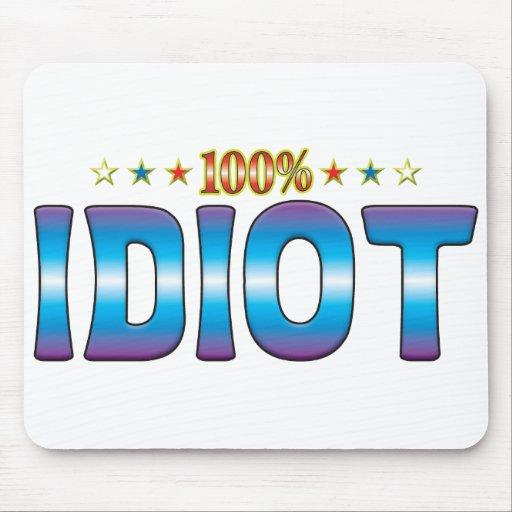 Idiot Star Tag v2 Mouse Pad