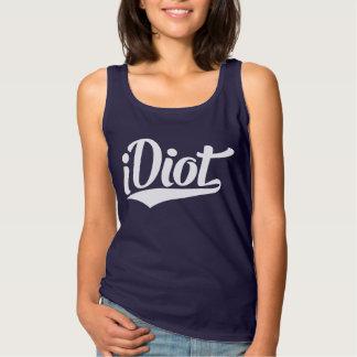 iDiot Tank Top