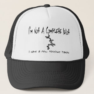 idiot trucker hat