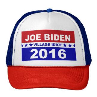 Idiota 2016 del pueblo de Joe Biden Gorras