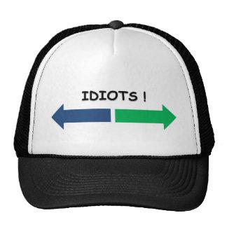 idiotas gorras de camionero