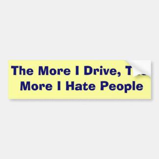 Idiots Car Bumper Sticker