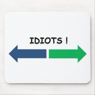 idiots mouse pad