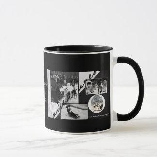 Iditarod Black & White Mug