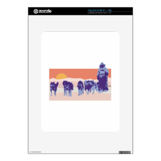 Iditarod Decals For The iPad