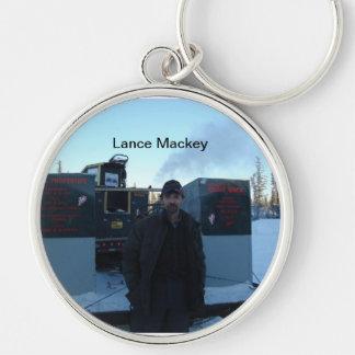 Iditarod musher Lance Mackey keychain