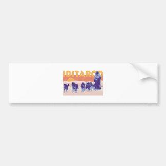 Iditarod Race Bumper Sticker