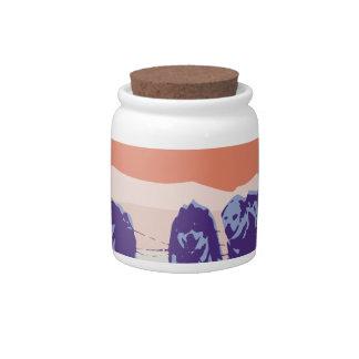 Iditarod Race Candy Jar