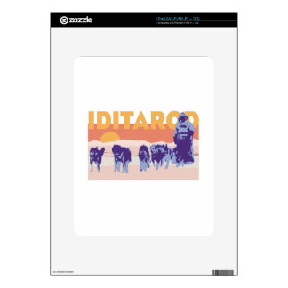 Iditarod Race Decal For The iPad
