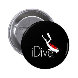idive 2 inch round button