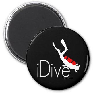 idive 2 inch round magnet