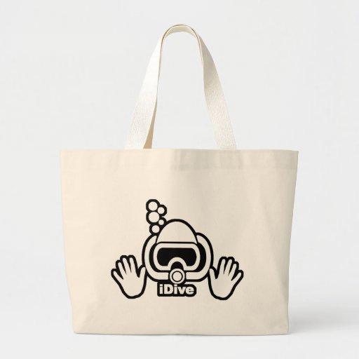 iDive Blk Mask Bubble Bag