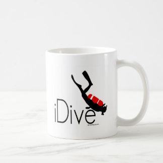 idive coffee mug