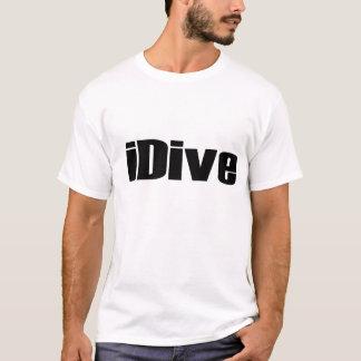 iDive, graphic, shirt, tshirt, sport, hobby T-Shirt