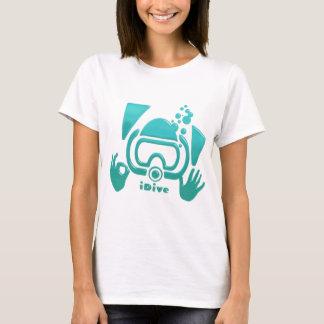 iDive OK Aquamarine Scuba Original T-Shirt