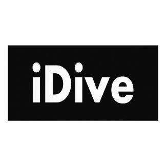 iDive Customized Photo Card