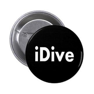 iDive Pin Redondo De 2 Pulgadas