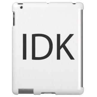 IDK FUNDA PARA iPad