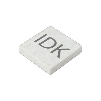IDK STONE MAGNET