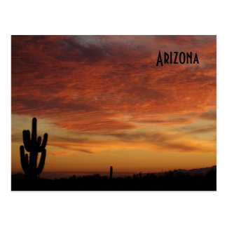 IDKP Arizona sunset post card