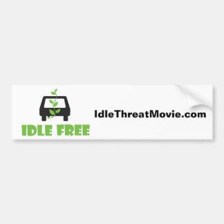 Idle Free Bumper Sticker