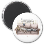 Idle Moment 2 Inch Round Magnet