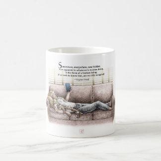 Idle Moment Classic White Coffee Mug