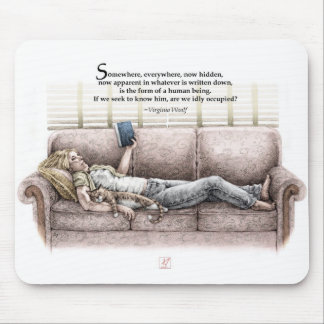 Idle Moment Mouse Pad