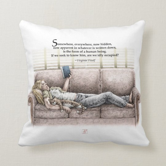 Idle Moment Throw Pillow