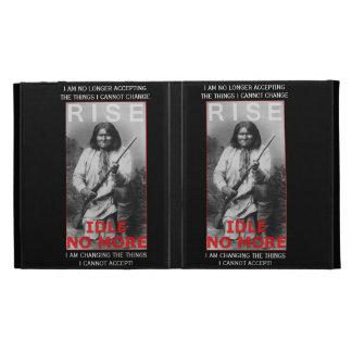 IDLE NO MORE!  Activist i Pad Case iPad Folio Cover