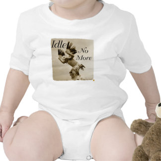 Idle No More Dancing Eagle baby onsie Shirts