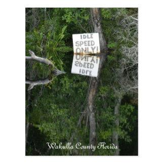 Idle Speed River Postcard