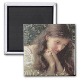 Idle Tears (w/c on paper) 2 Inch Square Magnet