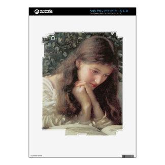 Idle Tears (w/c on paper) iPad 3 Skins