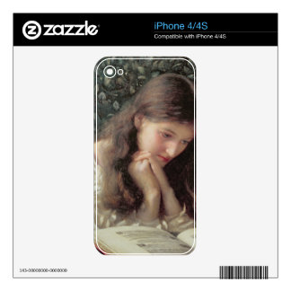 Idle Tears (w/c on paper) Skin For The iPhone 4