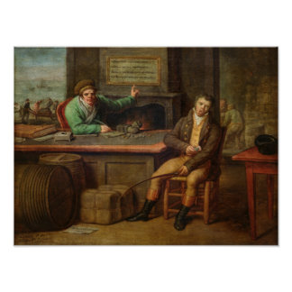 Idleness, 1818 poster