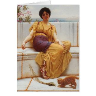 Idleness Fine Art Card
