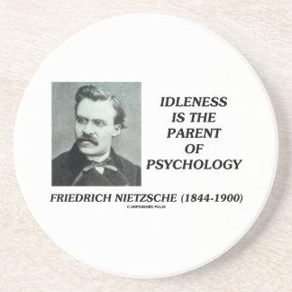 Idleness Is The Parent Of Psychology Nietzsche Coaster