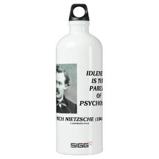 Idleness Is The Parent Of Psychology Nietzsche SIGG Traveler 1.0L Water Bottle