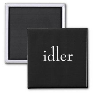 Idler 2 Inch Square Magnet
