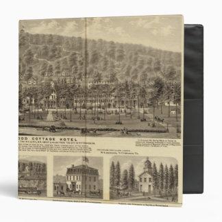 Idlewood Cottage Hotel near Pittsburgh 3 Ring Binder
