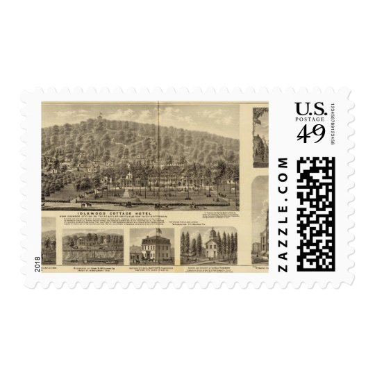 Idlewood Cottage Hotel near Pittsburgh Postage